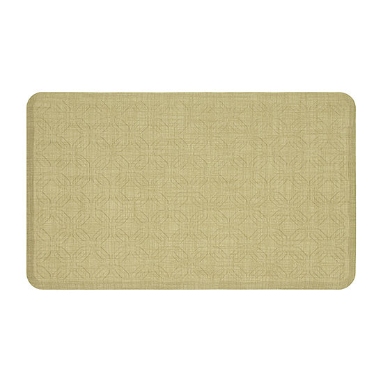 JCPenney Home Octagons Ultimate Comfort Rectangular Kitchen Mat