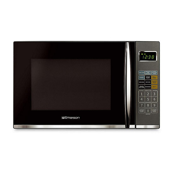 Emerson 1.2Cu Ft 1100W Touch Control Microwave Oven With 1100W Grill Feature