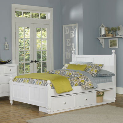 Lake House Kennedy Panel Bed with Storage