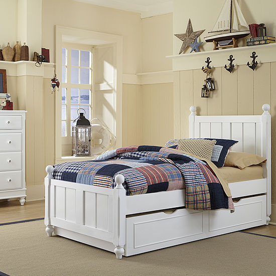 Lake House Kennedy Panel Bed with Trundle