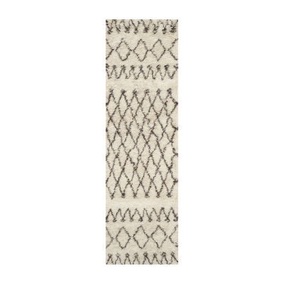 Safavieh Casablanca Collection Stephanie Geometric Runner Rug