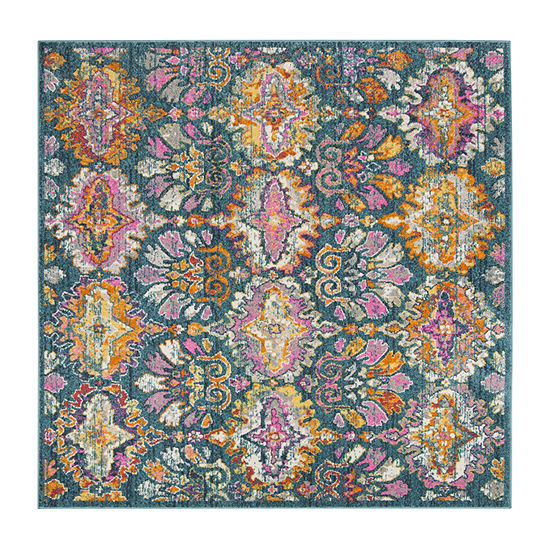 Safavieh Madison Collection Alina Geometric Square Area Rug