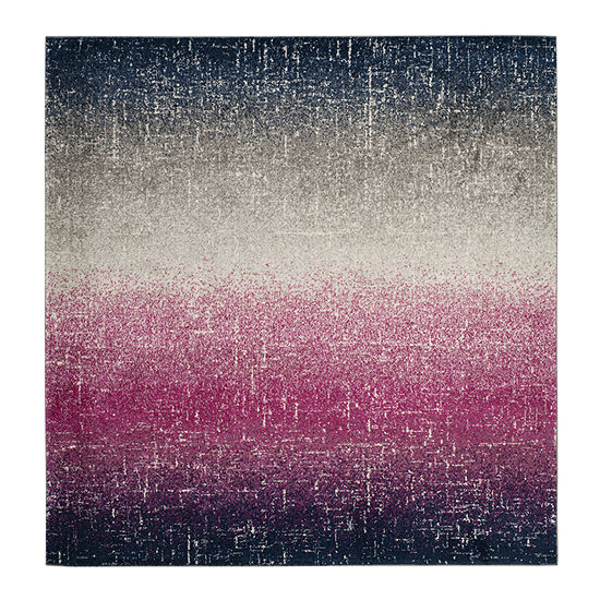 Safavieh Madison Collection Becky Abstract Square Area Rug