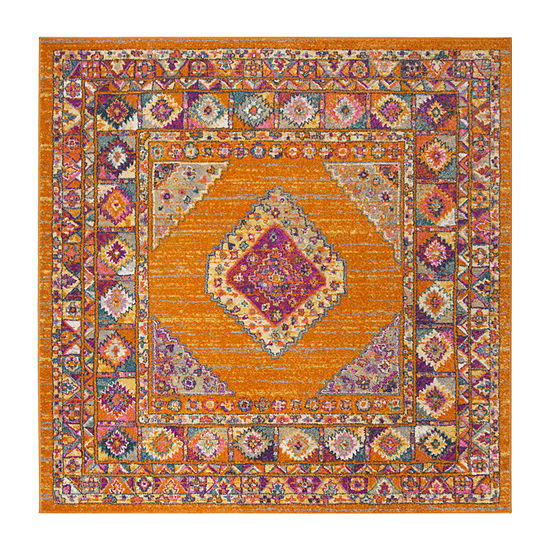 Safavieh Madison Collection Essence Oriental Square Area Rug