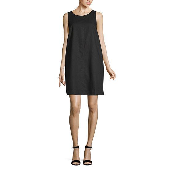 Liz Claiborne Aline Linen Dress - Tall
