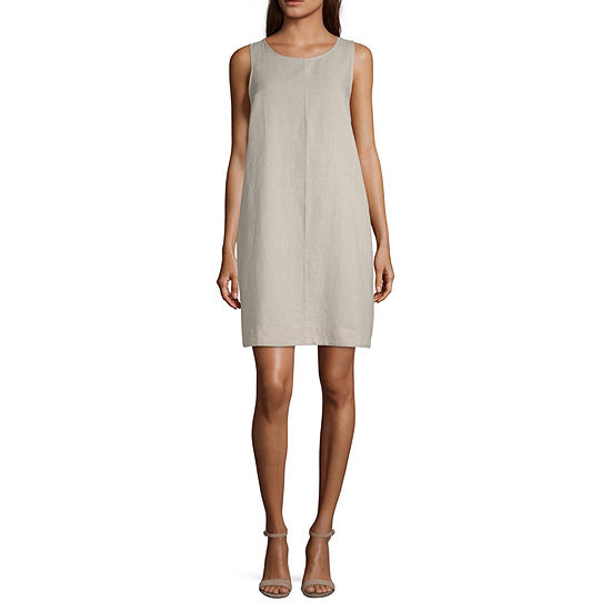 Liz Claiborne Aline Linen Dress - Tall