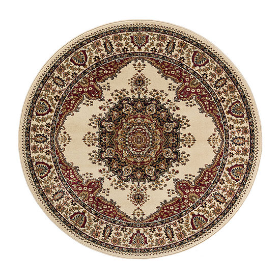 Tayse Sensation Fiona Round Indoor Rugs