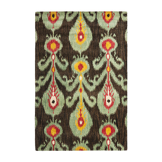 Safavieh Ikat Collection Hollie Floral Area Rug