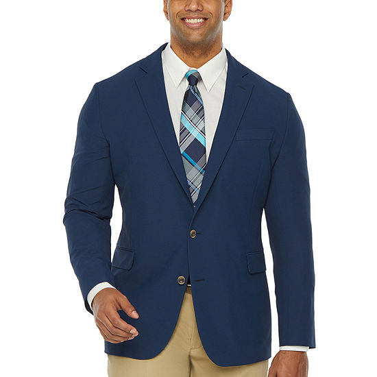 Stafford Performance Travel Mens Stretch Regular Fit Sport Coat - Big and Tall