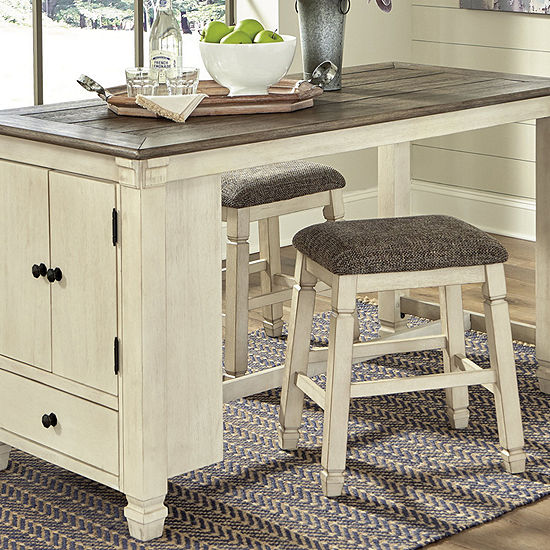 Signature Design by Ashley® Roanoke 3-Piece Counter Height Dining Set
