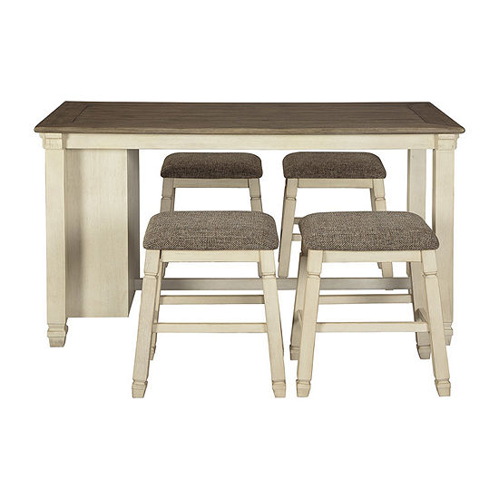 Signature Design by Ashley® Roanoke 5-Piece Counter Height Dining Set