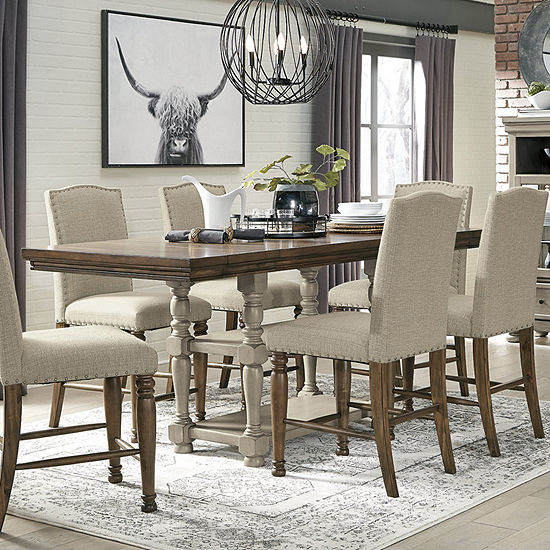 Signature Design by Ashley® Lettner 7-Piece Dining Set