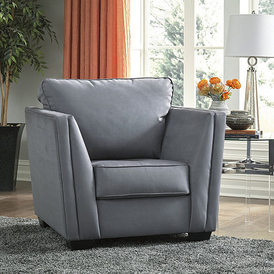 Signature Design by Ashley Filone Collection Track-Arm Chair