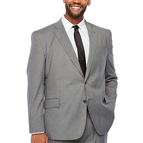 JF J. Ferrar Ultra Comfort Gray Suit Separates - Big and Tall