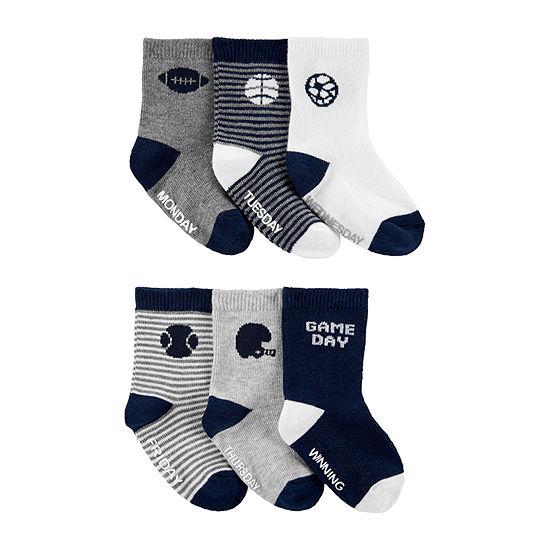 Carter's Baby Boys 1 Pair Crew Socks