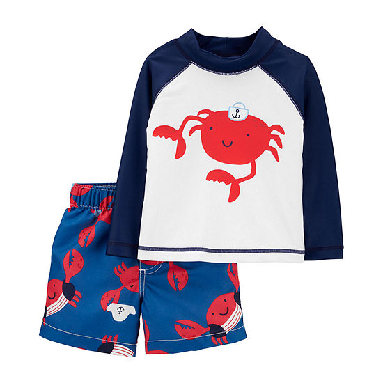 Carter's Baby Rash Guard Set