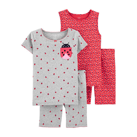 Carter's Girls 4-pc. Pajama Set -  Little/ Big Kid