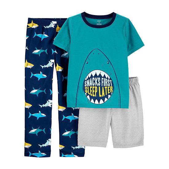 Carter's Boys 3-pc. Pajama Set -  Little/ Big Kid