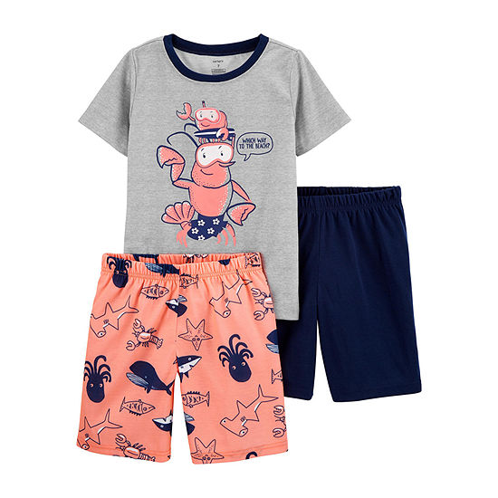 Carter's Boys 3-pc. Pajama Set - Little /Big Kid