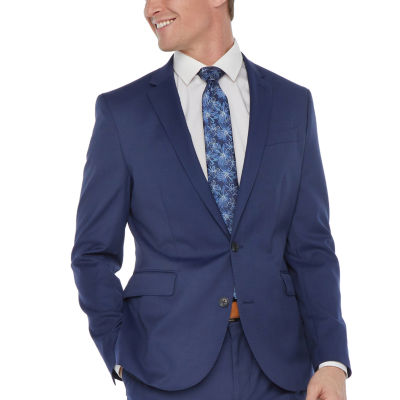 JF J.Ferrar Mens Slim Fit Suit Jacket-Big and Tall