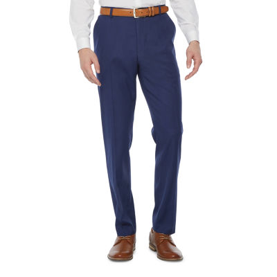 JF J.Ferrar Mens Slim Fit Suit Pants - Big and Tall