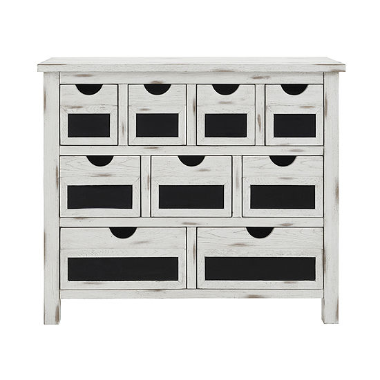 Chalkboard Front 9-Drawer Accent Chest