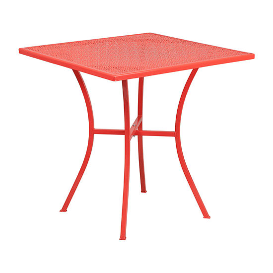 3-Piece Indoor/Outdoor Steel Patio Table Set