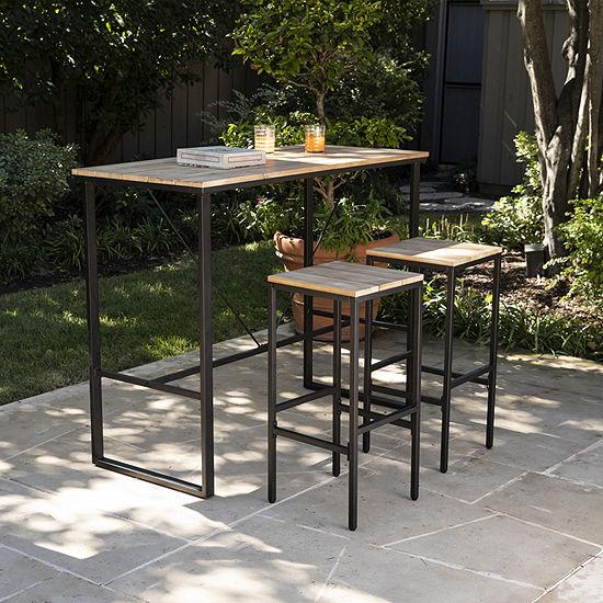 Terth Outdoor Bar Set