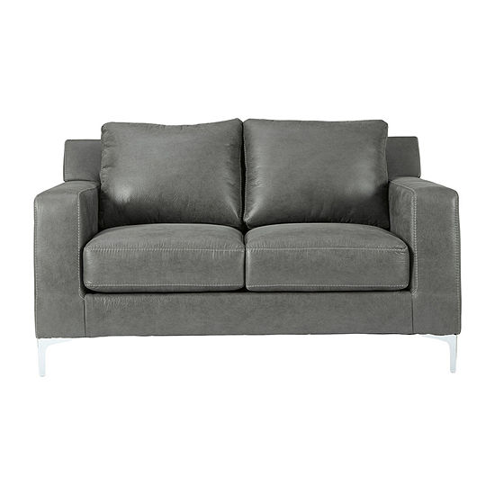 Signature Design by Ashley Ryton  Collection Track-Arm Loveseat