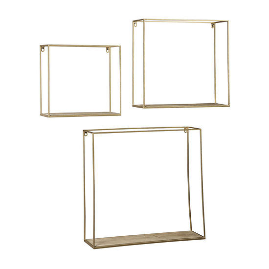 Signature Design by Ashley Efharis 3-pc. Wall Shelf