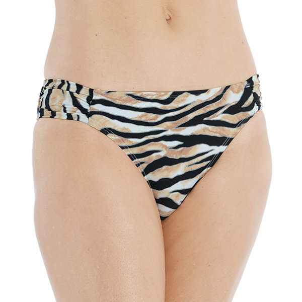 Mynah Side Tie Womens Animal Hipster Bikini Swimsuit Bottom