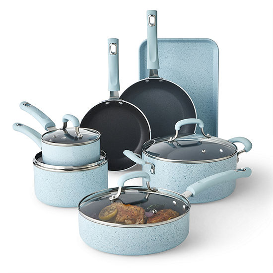 Cooks Spatter 11-pc Cookware Set