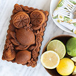 Nordicware Citrus Blossom Loaf Pan