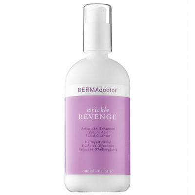 DERMAdoctor Wrinkle Revenge® Antioxidant Enhanced Glycolic Acid Facial Cleanser