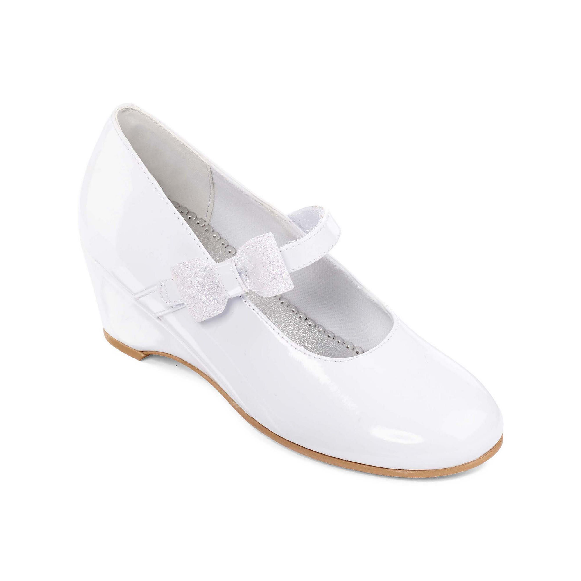 Christie & Jill Kaitlyn Girls Wedge Dress Shoes - Little Kids