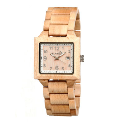 Earth Wood Culm Unisex Brown Bracelet Watch-Ethew1001