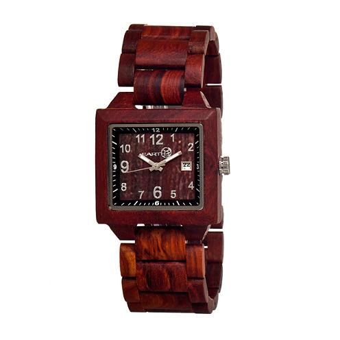 Earth Wood Culm Unisex Red Bracelet Watch-Ethew1003