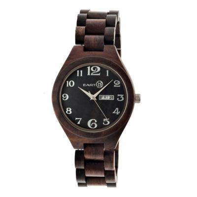 Earth Wood Sapwood Unisex Brown Bracelet Watch-Ethew1602