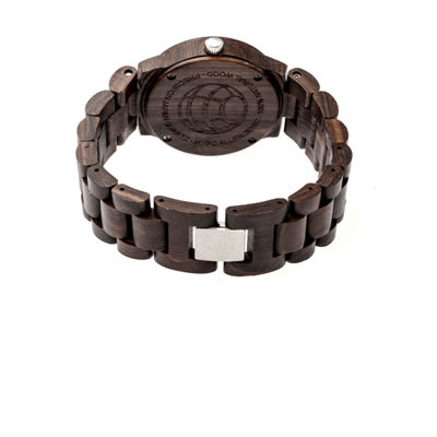 Earth Wood Biscayne Unisex Brown Bracelet Watch-Ethew4202