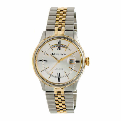 Heritor Vernon Mens Multicolor Bracelet Watch-Herhr5803