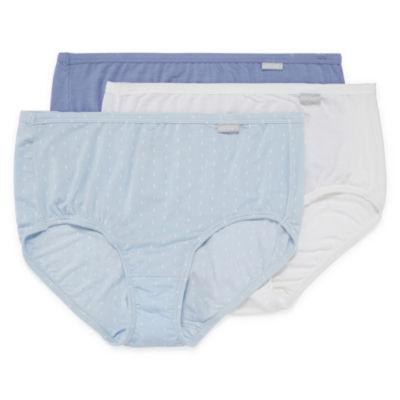 Jockey Elance® Supersoft Micromodal® 3 Pair Microfiber Brief Panty 2073