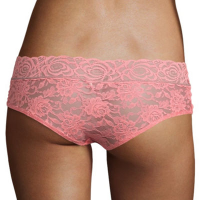 Wallflower 2-pc. Lace Hipster Panty L64001wfb