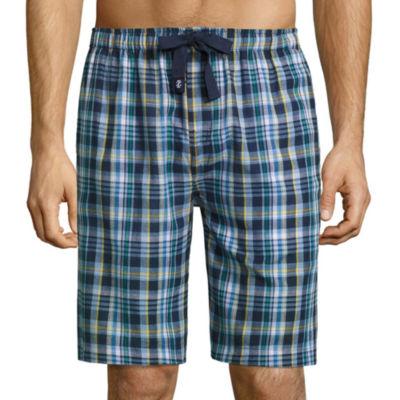 Izod Broadcloth Pajama Shorts-Big