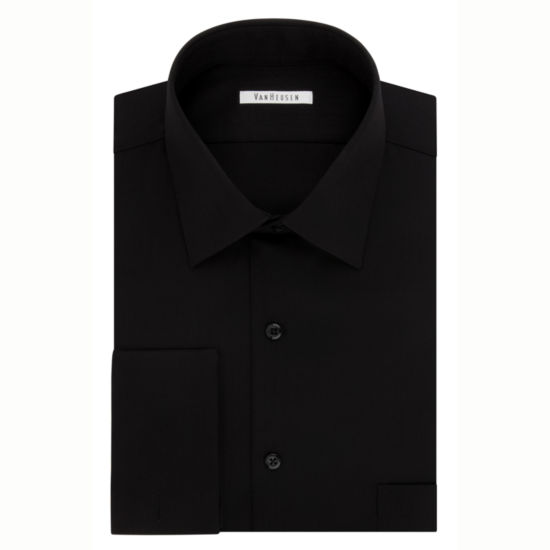 Van Heusen Long Sleeve Dobby Dress Shirt