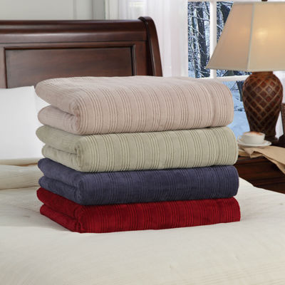 Safe and Warm™ Tri-Rib Electric Blanket