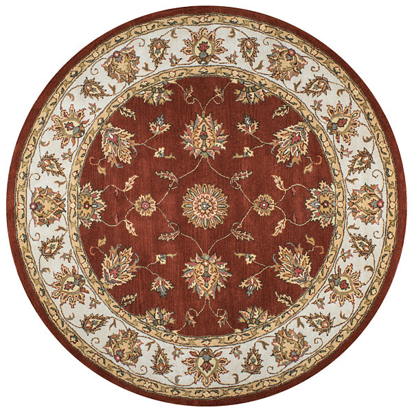 Rizzy Home Volare Border Round Rugs