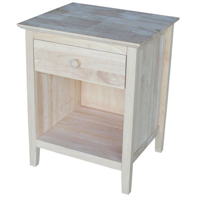 Whitewood Industries 1-Drawer Nightstand