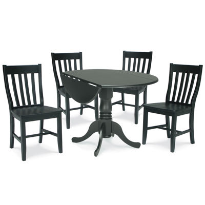 Dual Drop Leaf 5-pc. Round Dining Set