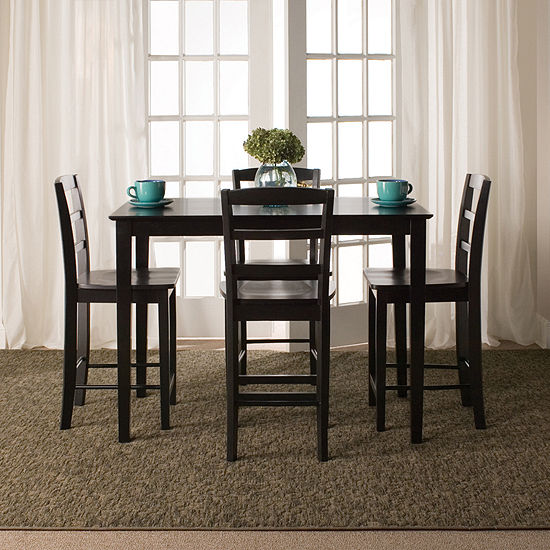 Gathering 5-pc. Counter Height Rectangular Dining Set