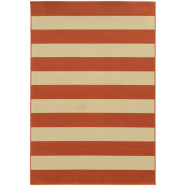 cabana stripe rug covington home cabana stripes rectangular rug jcpenney 1900